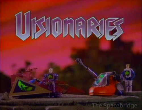Visionaries Toy TV Spot Example